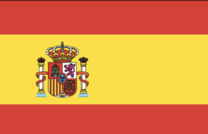 spain flag colors html