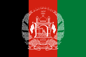 afghanistan flag colors