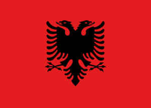 albania flag colors