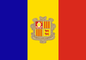 andorra flag colors