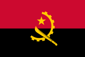 angola flag colors