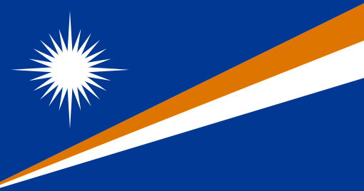 Marshall Islands flag colors