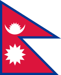 nepal flag colors